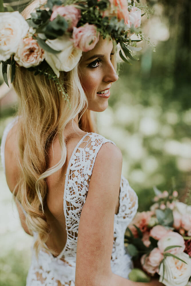 Styled Belli Momenti Boho Wedding Dress